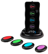 JTD JTD-KF4 Wireless RF Item Locator/Key Finder with LED flashlight