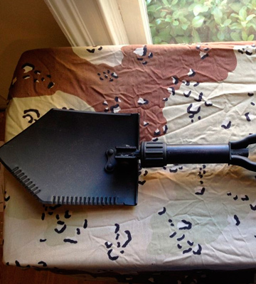 Review of Military issue E-Tool Genuine Military Folding Shovel