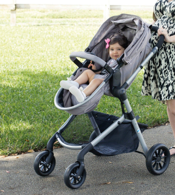 Review of Evenflo Pivot Modular Travel System Lightweight Baby Stroller