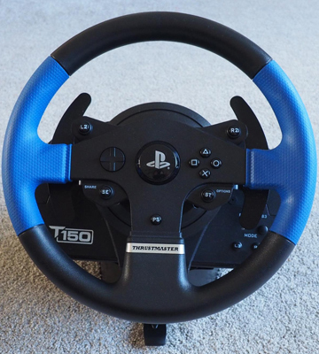 Review of Thrustmaster T150 Force Feedback Racing Wheel for PS4/PS3/PC