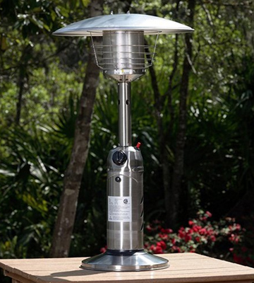 Review of AZ Patio Heaters HLDS032 Portable Table Top Patio Heater
