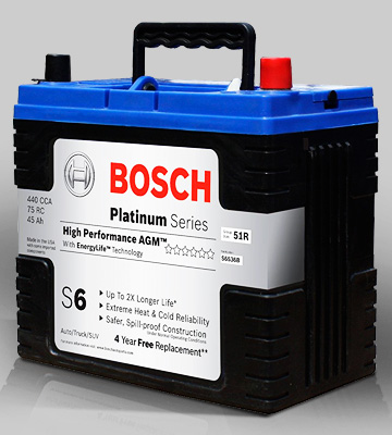 Review of Bosch S6536B S6 Flat Plate AGM Battery