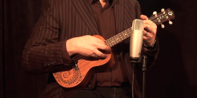 Detailed review of Luna Mahogany Series Tattoo Concert Ukulele