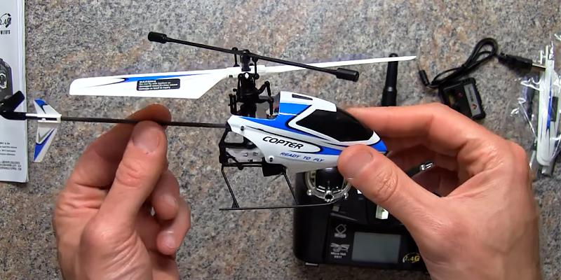 Review of WL V911 Mini Radio Single Propeller RC Helicopter