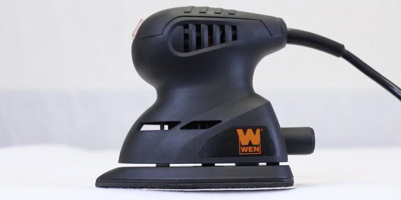 Detailed review of WEN 6301 Electric Detailing Palm Sander