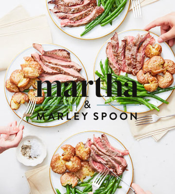 Review of Martha & Marley Spoon Meal Boxes for Couples, Families, & Friends