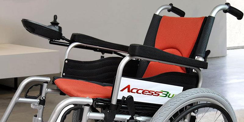 Accessbuy Electric Power Portable Wheelchairs in the use