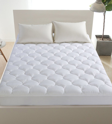 Review of LEISURE TOWN Mattress Pad Overfilled Cooling Mattress Topper