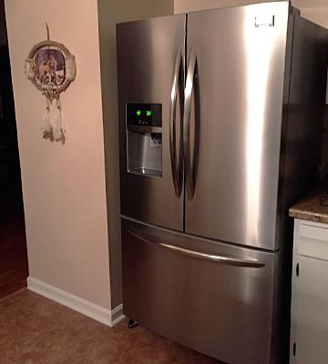 Review Of Frigidaire 22.6 Cu.Ft. Counter Depth French Door Refrigerator