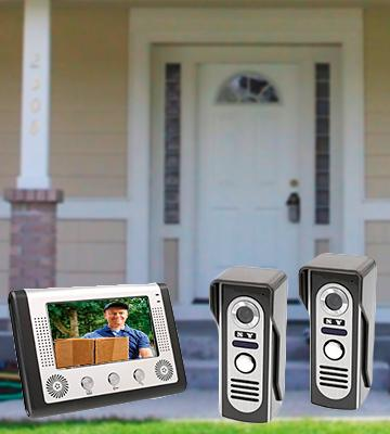 Review of Docooler LCD Home Security Video Door Phone Intercom