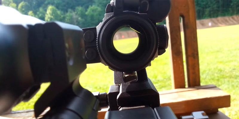 Vortex StrikeFire 2 (SF-RG-501) Cantilever Mount Red/Green Dot Scope with Vortex Optics Hat in the use