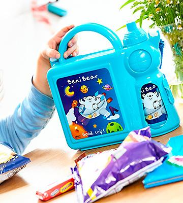 Review of Qasass Beni Bear Lunchbox Combo Set