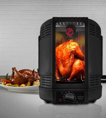 Review of NutriChef PKRT16BK Vertical Rotisserie Rotating Oven