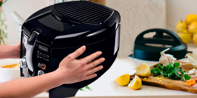 Review of Delonghi D28313UXBK Roto Deep Fryer