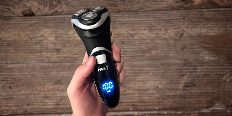 Review of Max-Tcare Men's Electric Shaver Corded and Cordless Rechargeable 3D Rotary Shaver