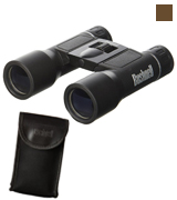 Bushnell 131225 Powerview 12x25 Compact Folding Roof Prism Binocular