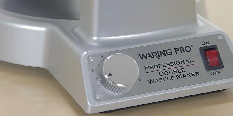 Detailed review of Waring WMK600 Double Belgian Waffle Maker