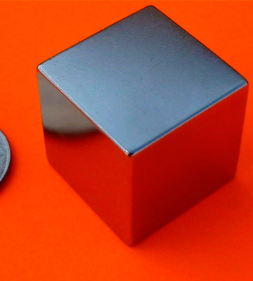 "Review of CMS Magnetics NB0205-50NM-FBA Super Strong 1"" Neodymium Cube Magnet"