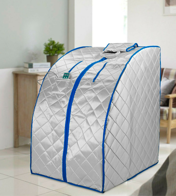 Review of Durasage X-Large Infrared IR Far Portable Indoor Personal Spa Sauna