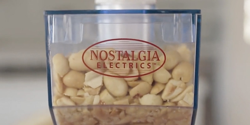Nostalgia Electrics NBM400 Electric Peanut Butter Maker application