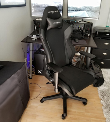 Review of DX Racer OH/RW106/NR Newedge Edition Racing Gaming Chair (with Pillows)
