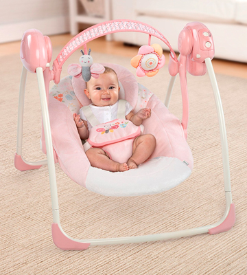 Review of Comfort & Harmony 60194 (gray) Portable Swing