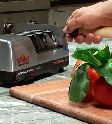 Review of Chef's Choice 15 Trizor XV EdgeSelect Electric Knife Sharpener