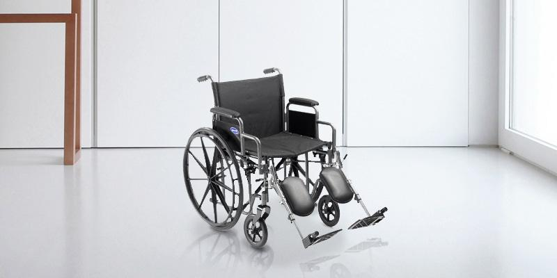 Review of MedMobile PT8112 Self Transport Folding Wheelchair with Footrests