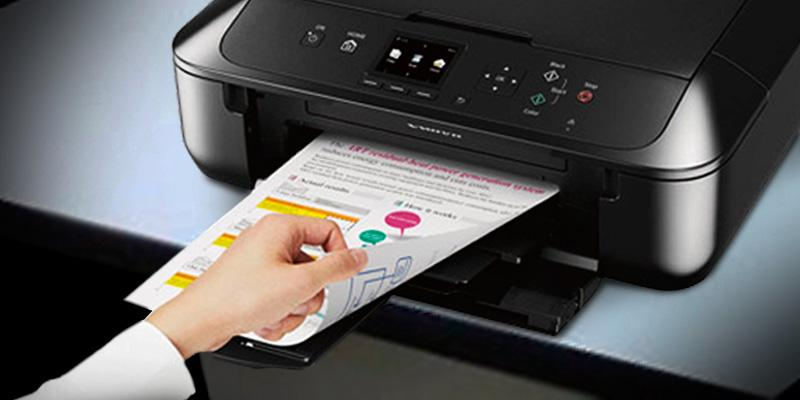Canon MG5720 Wireless All-In-One Printer in the use