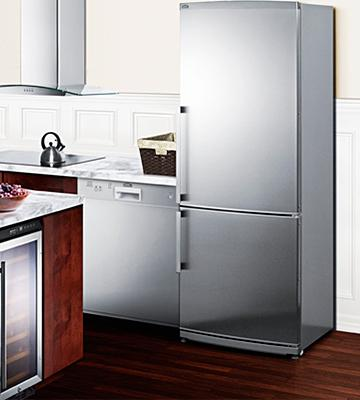 Review of Summit FFBF285SSIM Counter-Depth Bottom-Freezer Refrigerator
