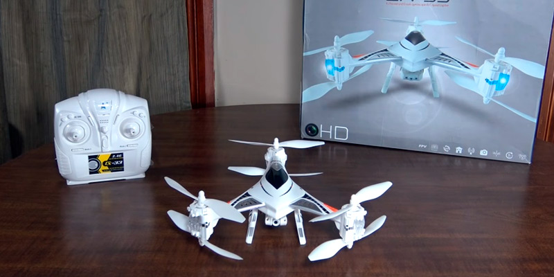 Goolsky CX-33 Tricopter Drone in the use
