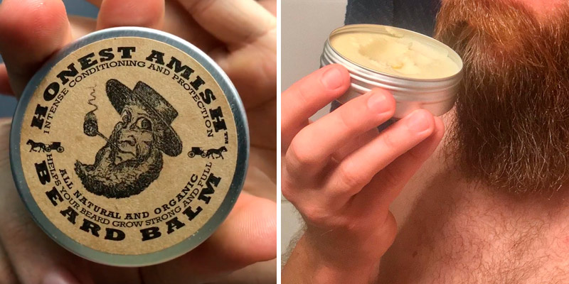 Review of Honest Amish Beard Balm Leave-in Conditioner