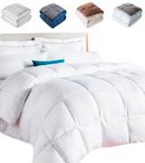 Linenspa LS70QQMICO All-Season White Down Alternative Quilted Comforter