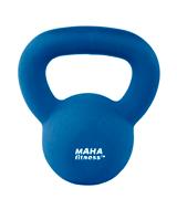 Neoprene-Coated Maha Fitness Kettle Ball