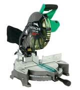 Hitachi C10FCH2 Single Bevel Compound Miter Saw with Laser Marker