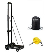 ROYI 854676 Compact and Lightweight Cart for Luggage