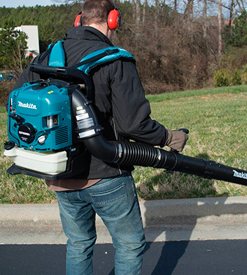Review of Makita EB7650WH Hip Throttle Backpack Blower