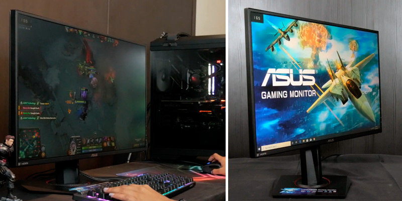 ASUS (VG278QR) 27-Inch Full HD Gaming Monitor (165Hz, G-SYNC) in the use