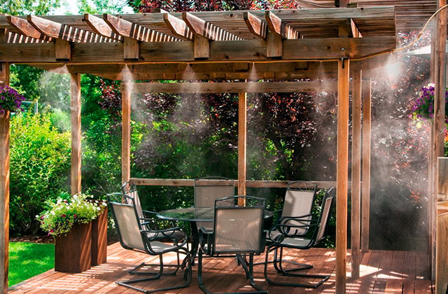 Best Misting Systems for Patios, Gazebos and Backyards Cooling