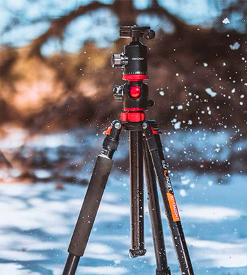 Review of K&F Concept TM2534T DSLR Camera Tripod