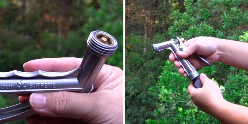 Review of Gilmour Full Size Zinc Pistol Grip Nozzle with Threaded Front