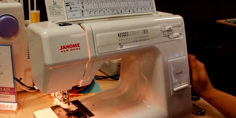 Review of Janome HD3000 Heavy Duty Sewing Machine