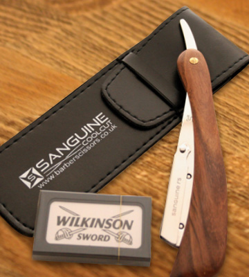 Review of Sanguine Wood-r5 Straight Razor