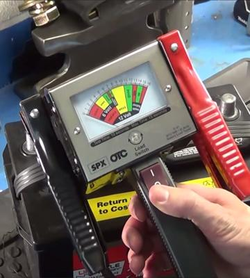 Review of OTC 130 Amp Heavy-Duty Battery Load Tester