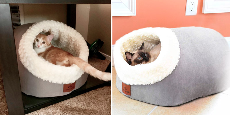 Review of Miss Meow Cat Bed Round and Cave Shape