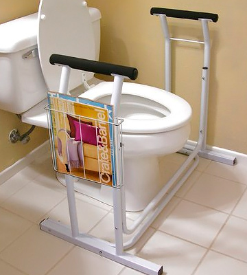 Review of Vaunn Medical Bathroom Toilet Rail Safety Frame Handle