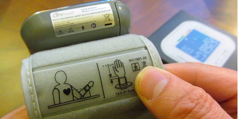 Detailed review of Care Touch Wrist Blood Pressure Monitor