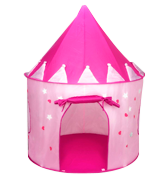 FoxPrint Princess Castle Play Tent with Glow in The Dark Stars