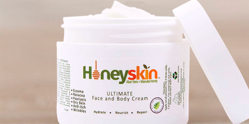 Review of Honeyskin Organics Face & Body Cream Moisturizer - Nourishing Aloe Vera
