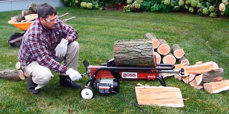 Review of Boss Industrial ES7T20 Electric Log Splitter